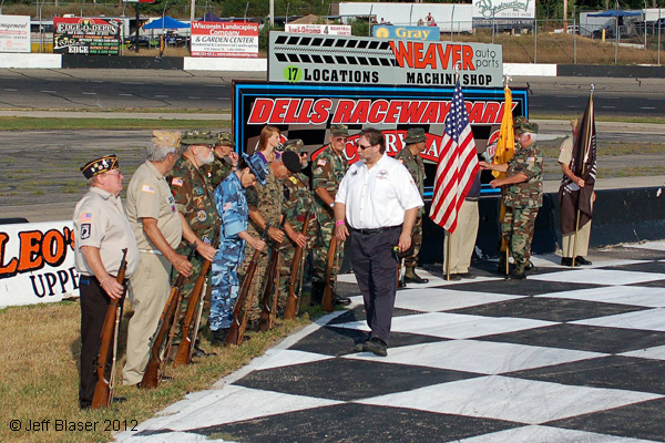 Honor America Night at Dells Raceway Park 2012