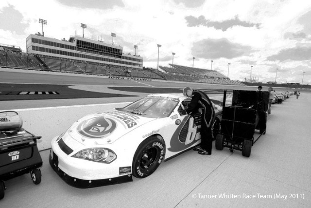 Tanner Whitten Race Team at Iowa Speedway